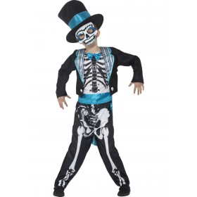 Day of the Dead Groom Costume Fancy Dress
