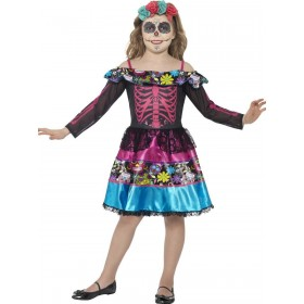 Day of the Dead Sweetheart Costume Fancy Dress