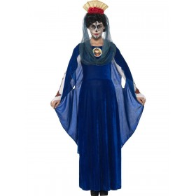 Day of the Dead Sacred Mary Costume Fancy Dress