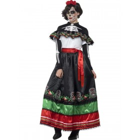 Day of the Dead Senorita Costume Fancy Dress