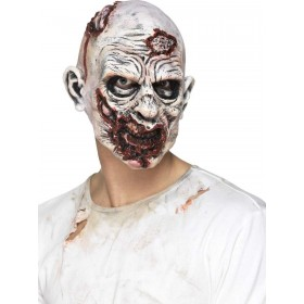 Zombie Mask, Foam Latex Fancy Dress Accessory