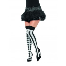 Harlequin Hold Ups Fancy Dress Accessory
