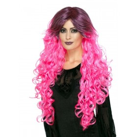Gothic Glamour Wig Fancy Dress Accessory