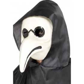 Authentic Plague Doctor Mask Fancy Dress Accessory