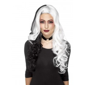 Deluxe Evil Madame Wig Fancy Dress Accessory