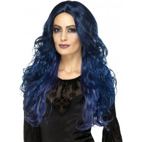 Occult Witch Siren Wig Fancy Dress Accessory