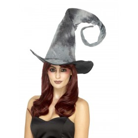 Deluxe Spellbound Decayed Hat, Tie Dye Fancy Dress Accessory