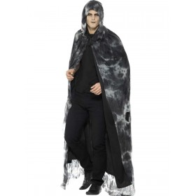 Deluxe Spellbound Decayed Cape Fancy Dress Costume