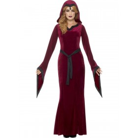 Medieval Vampiress Costume Fancy Dress