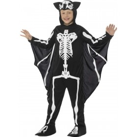 Bat Skeleton Costume Fancy Dress