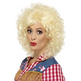 Rodeo Doll Wig Fancy Dress Accessory