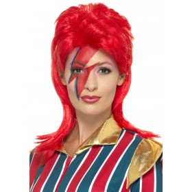 Space Superstar Wig Fancy Dress Accessory