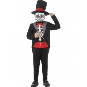 Day of the Dead Boy Costume Fancy Dress