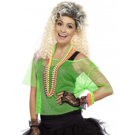 Fishnet Top Fancy Dress Costume