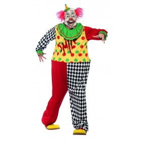 Sinister Clown Costume Fancy Dress