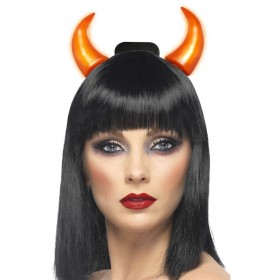 Light Up Devil Horns Fancy Dress Accessory