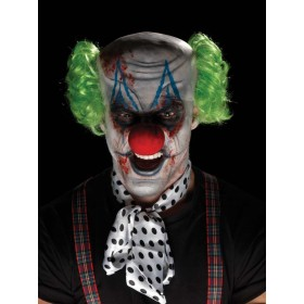 Sinister Clown Make-Up Kit, Aqua Fancy Dress Accessory