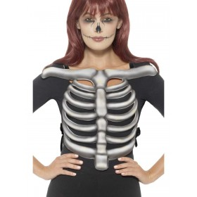Skeleton Rib Cage Top,  Fancy Dress Costume