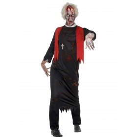 Zombie High Priest Costume Fancy Dress