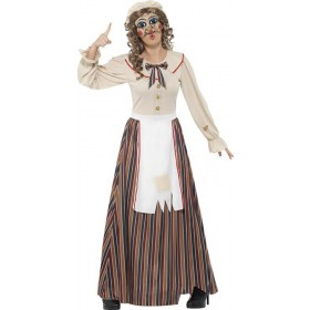 Ladies Possessed Judy Halloween Fancy Dress Costume