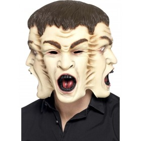 3 Face Mask Fancy Dress Accessory