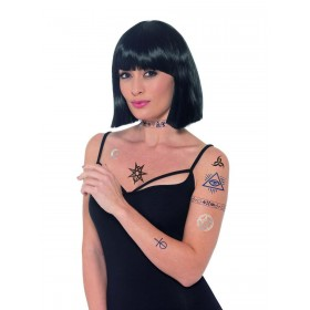 Occult Tattoo Transfers Fancy Dress Accessory