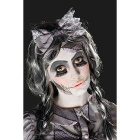 Damaged Doll Make-Up Kit, Aqua Fancy Dress Accessory
