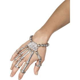 Skeleton Hand Bracelet Fancy Dress Accessory