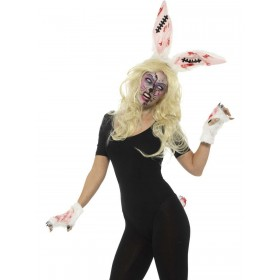 Zombie Bunny Kit Fancy Dress Accessory