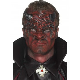 Foam Latex Devil Head Prosthetic Fancy Dress Accessory