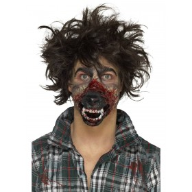 Foam Latex Werewolf Mouth Prosthetic Fancy Dress Accessory