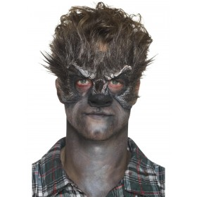 Foam Latex Werewolf Head Prosthetic Fancy Dress Accessory