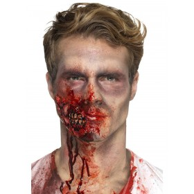 Latex Zombie Jaw Prosthetic Fancy Dress Accessory