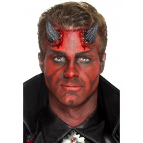 Latex Realistic Devil Horn Prosthetics Fancy Dress Accessory