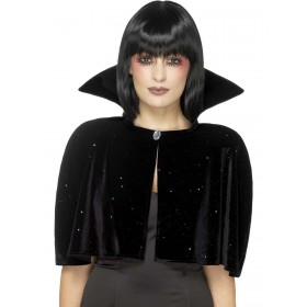 Evil Queen Cape Fancy Dress Costume