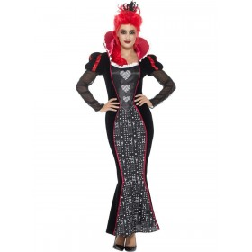 Deluxe Baroque Dark Queen Costume Fancy Dress