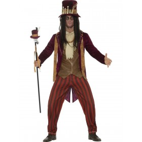 Deluxe Voodoo Witch Doctor Costume Fancy Dress