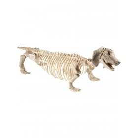 Dachshund Dog Skeleton Prop Fancy Dress Accessory