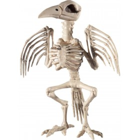 Raven Skeleton Prop Fancy Dress Accessory