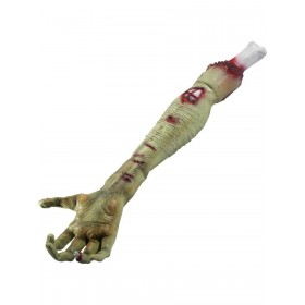 Latex Zombie Rotting Flesh Arm Prop Fancy Dress Accessory