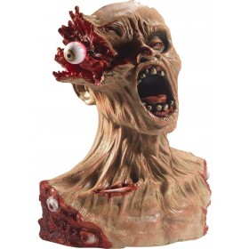 Latex Exploding Eye Zombie Bust Prop Fancy Dress Accessory