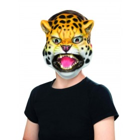 Leopard Mask Fancy Dress Accessory
