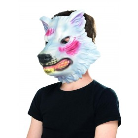 Wolf Mask Fancy Dress Accessory