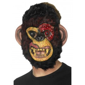 Zombie Chimp Mask Fancy Dress Accessory