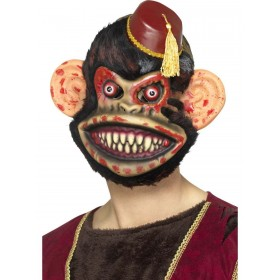 Zombie Toy Monkey Mask Fancy Dress Accessory