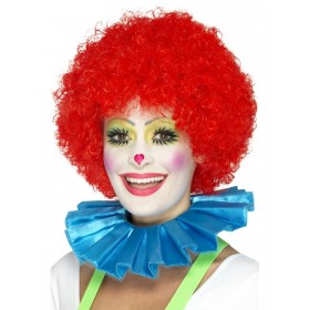 Clown Neck Ruffle Fancy Dress Accessory