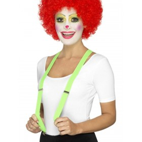 Clown Braces Fancy Dress Accessory
