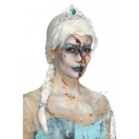 Zombie Froze To Death Wig Fancy Dress Accessory