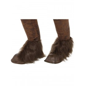 Beast / Krampus Demon Hoof Shoe Covers Fancy Dress Accessory
