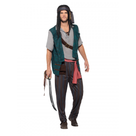Pirate Deckhand Costume Fancy Dress